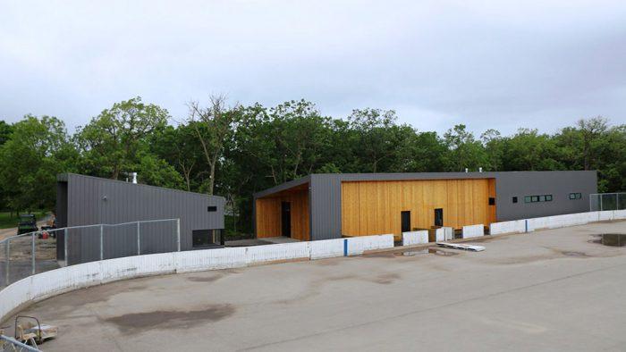 Zamboni Garage